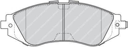 Колодки тормозные дисковые передние керамические  KÖNNER KPF1002C